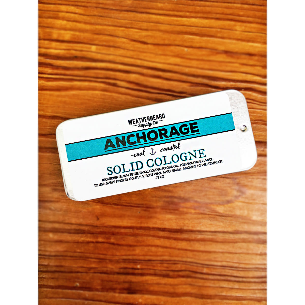 WeatherBeard Supply Co. Anchorage Solid Cologne