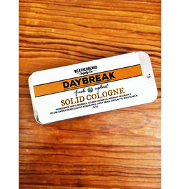 WeatherBeard Supply Co. Daybreak Solid Cologne