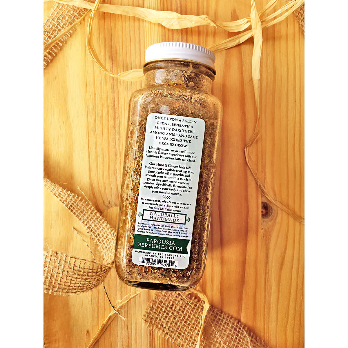 Old Factory Soap Company Hunt & Gather Artisan Bath Salt Blend - 9oz.