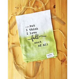 MODma Goods Love Fall Most Of All Tea Towel
