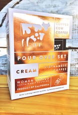 Copper Cow Coffee Vietnamese Coffee + Cream Pour Over Kit