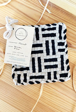 Kate Kilmurray Flax + Black Trivet