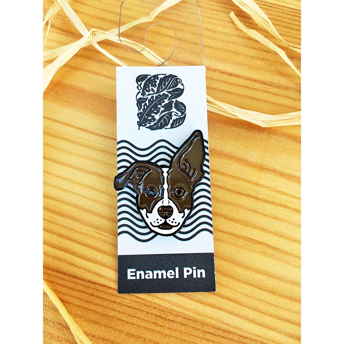 The Bungaloo Marmaloo Dog Enamel Pin