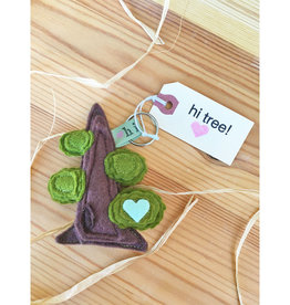 hi tree! Giant Sequoia Friend Keychain