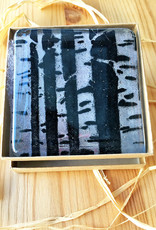 Hunky Dory Studio Birch Tree Glass Nightlight