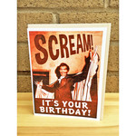 Alternate Histories Scream! It's Your Birthday! Greeting Card