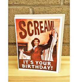 Alternate Histories Scream! It's Your Birthday! Greeting Card