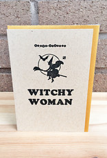 Igloo Letterpress Witchy Woman Greeting Card