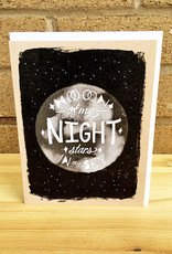 Band of Weirdos / Moss Love Moon of My Night Greeting Card