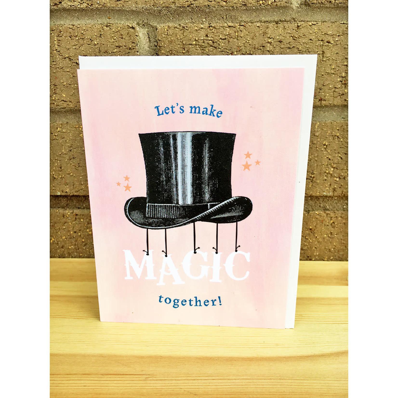 Pearl & Marmalade Magic Together Flat Print Greeting Card