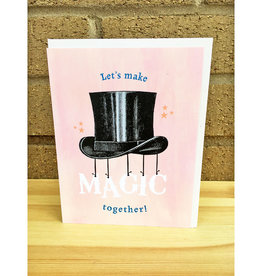 Pearl & Marmalade Magic Together Flat Print Greeting Card