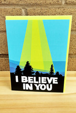 Band of Weirdos / Moss Love *I Believe In You Greeting Card