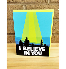 Band of Weirdos / Moss Love I Believe In You Greeting Card