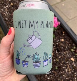 Moonlight Makers Wet My Plants Koozie