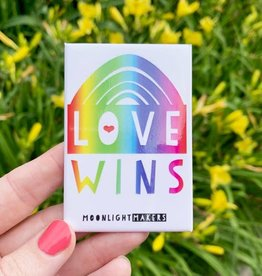 Moonlight Makers Love Wins Rainbow Magnet