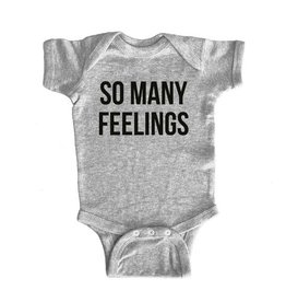 Sad Shop So Many Feelings Onesie - 6mos