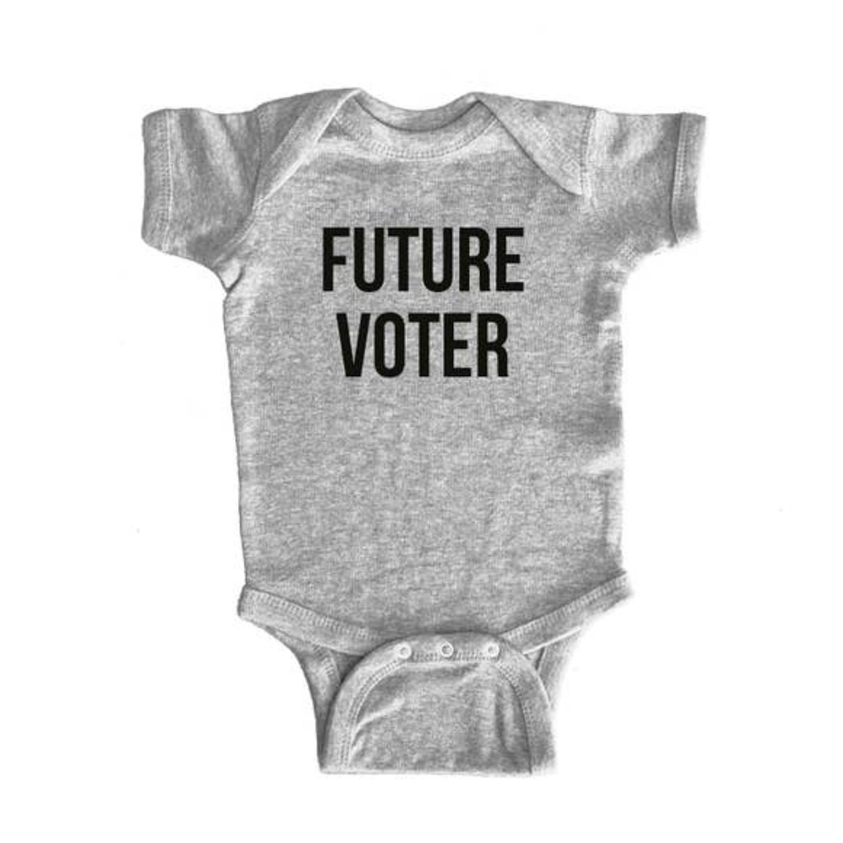 Sad Shop Future Voter Onesie - 6mos