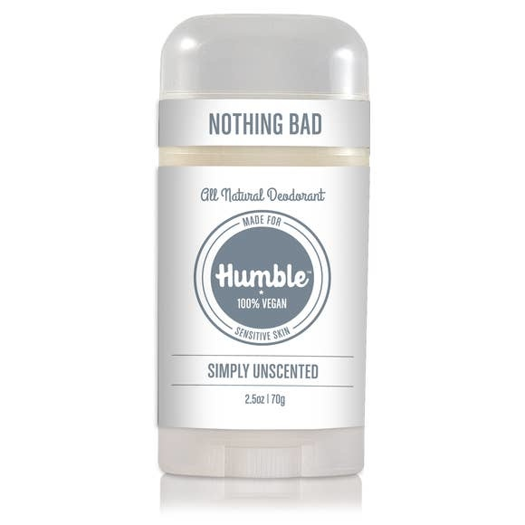 Humble Brands, Inc. Sensitive Skin/Vegan Unscented Deodorant