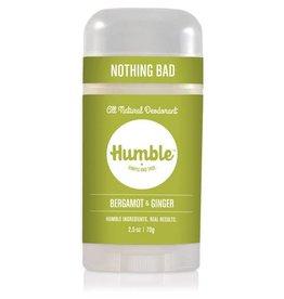 Humble Brands, Inc. Bergamot + Ginger Deodorant