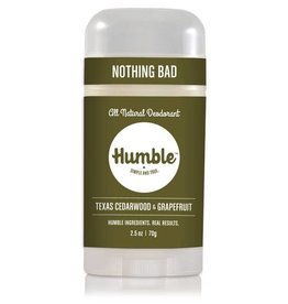 Humble Brands, Inc. Texas Cedarwood + Grapefruit Deodorant