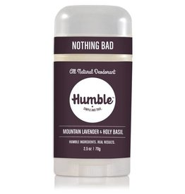 Humble Brands, Inc. Mountain Lavender + Holy Basil Deodorant