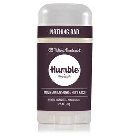 Humble Brands, Inc. Mountain Lavender + Holy Basil Deodorant
