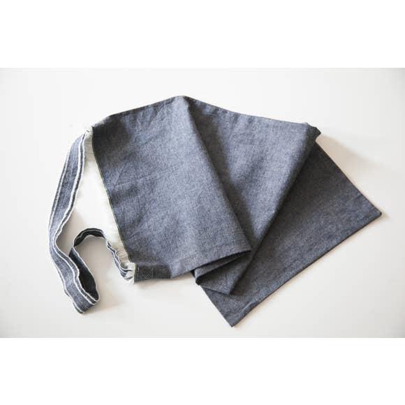 mobilhome Anthracite/Stone Merino Wool Tech Organizer