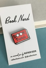 Rather Keen Book Nerd Enamel Pin