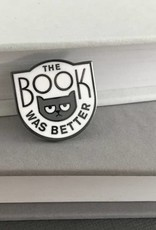 Rather Keen Book Was Better Enamel Pin (White)
