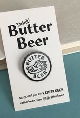 Rather Keen Butter Beer Cap Enamel Pin