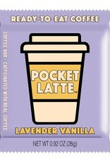 Pocket Latte Lavender Vanilla Coffee Chocolate Bar