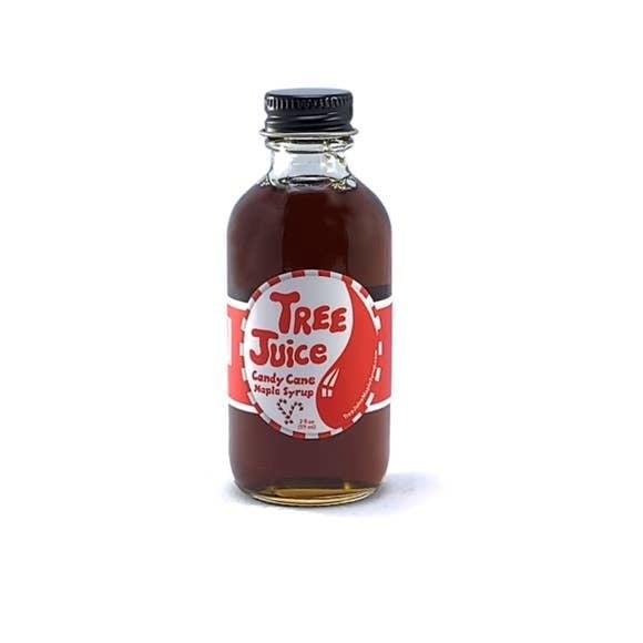 Tree Juice Maple Syrup Candy Cane Maple Syrup - 2oz. Bottle
