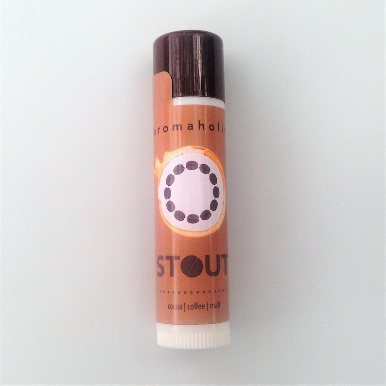 Aromaholic Stout Craft Beer Lip Balm