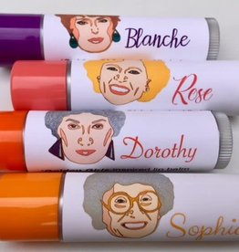 Aromaholic Golden Girls Lip Balm - Set of 4