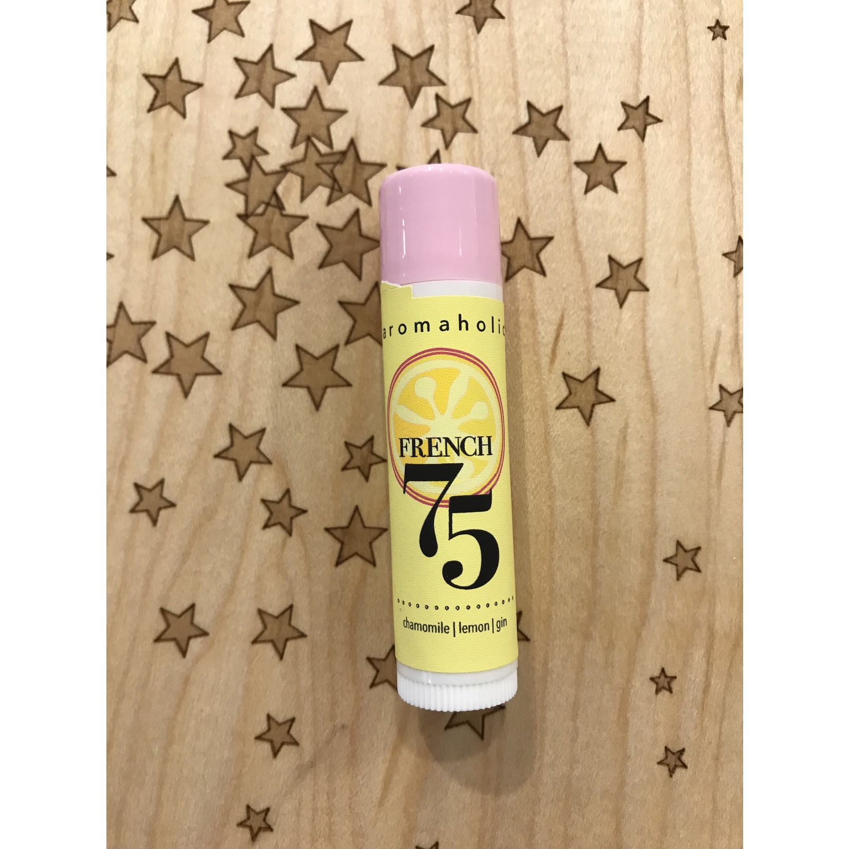 Aromaholic French 75 Cocktail Lip Balm