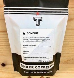 Tinker Coffee Co. Conduit - Malawi + Ethiopia Whole Bean Coffee - 4oz Bag
