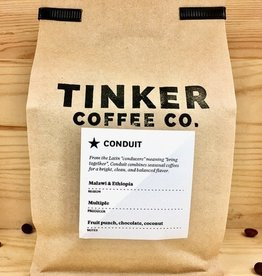 Tinker Coffee Co. Conduit - Malawi & Ethiopia Whole Bean Coffee - 12oz. Bag