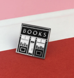 Rather Keen Book Shop Enamel Pin