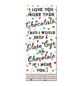 Curly Girl Design Love You More Milk Chocolate Bar