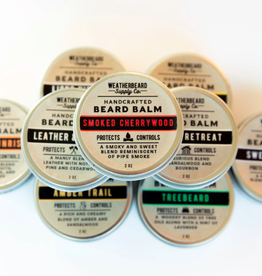 WeatherBeard Supply Co. Smoked Cherrywood Beard Balm