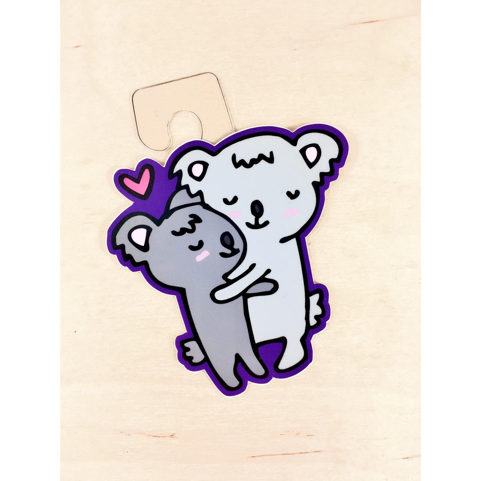 Jean Elise Designs Koala Hug Sticker