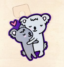 Jean Elise Designs Koala Hug Sticker