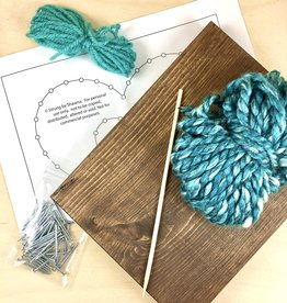 Strung By Shawna String Art Kit - Inset Heart
