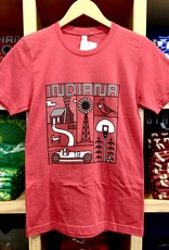 Swirvington Indiana Elements (Red) Tee