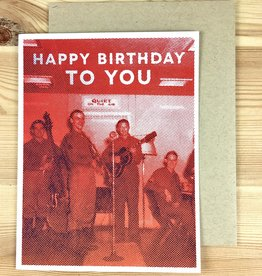 Arsenal Handicraft Rock N Roll Birthday Greeting Card
