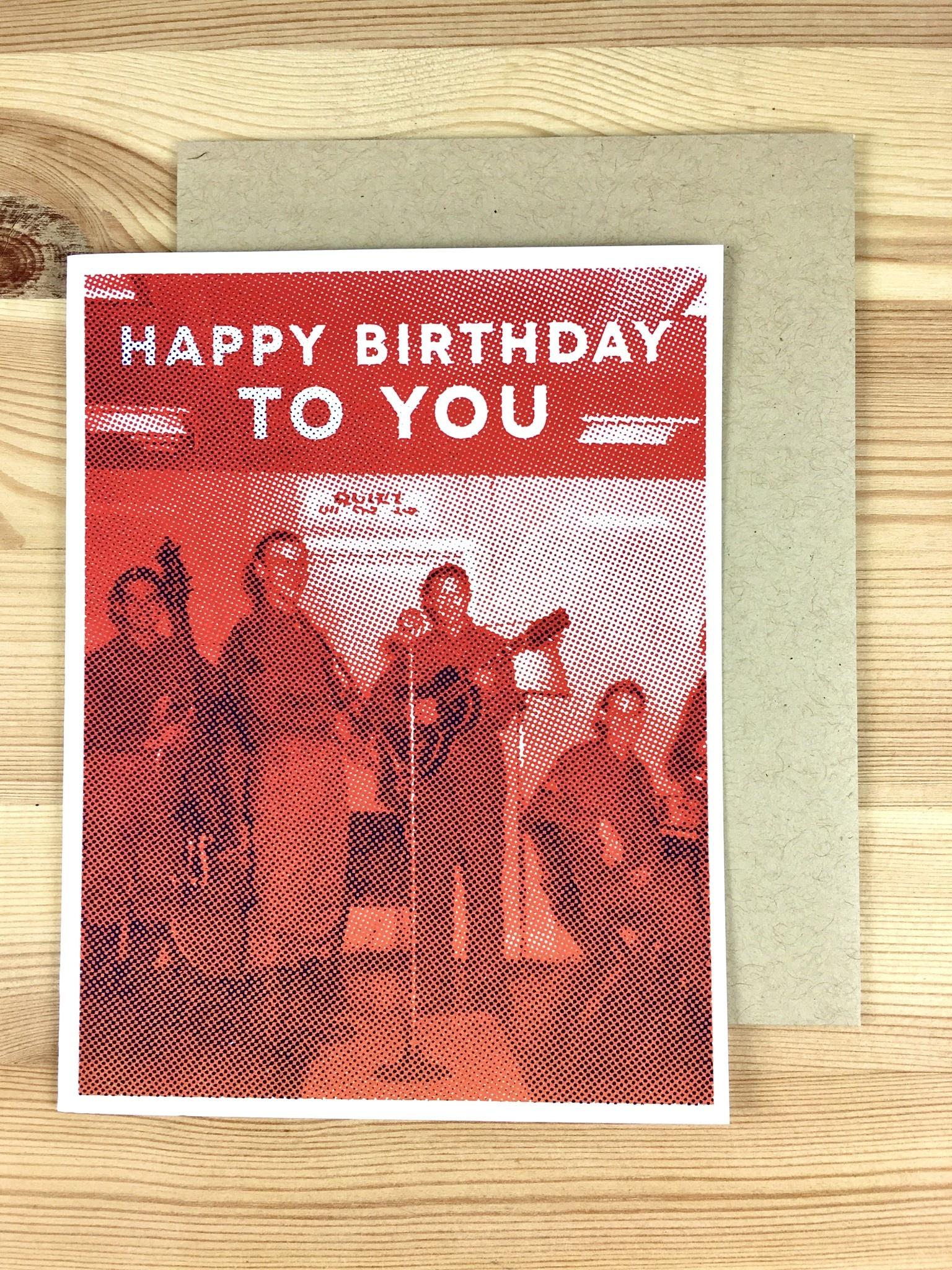 Arsenal Handicraft Rock N Roll Birthday Greeting Card