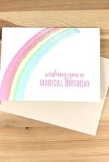 Pearl & Marmalade Magical Rainbow Birthday Greeting Card