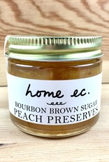 Home Ec. Bourbon Brown Sugar Peach Preserves