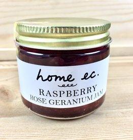 Home Ec. Raspberry Rose Geranium Jam
