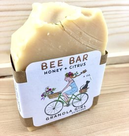 Granola Girl Skincare /Teehaus Bath + Body Bee Bar - Honey + Citrus Soap